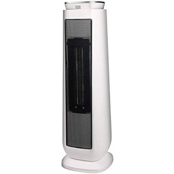 1500W Standing Space Heater, Oscillating Infrared Heater Indoor/Outdoor Heater with Remote (White), Sold by VC